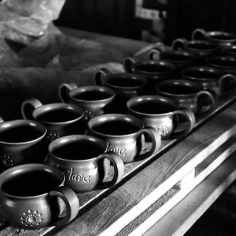 senoji juoda keramika